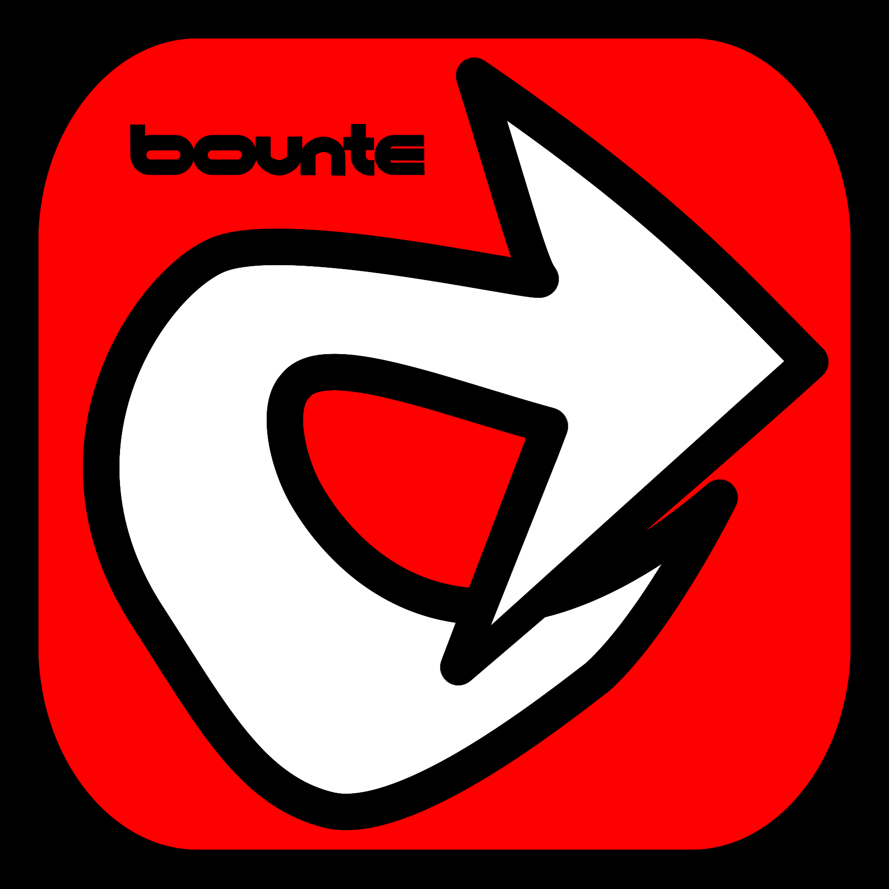 bounte sticker
